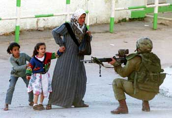 The foundation of Israeli culture is established on indoctrination and violence.
